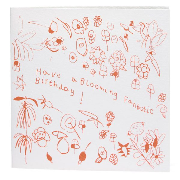 Blooming Fantastic Birthday Card