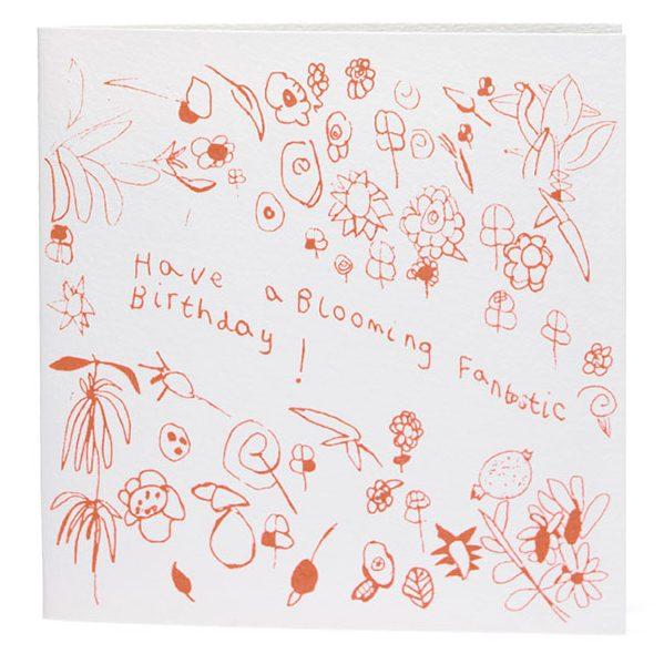 Blooming Fantastic Birthday Card