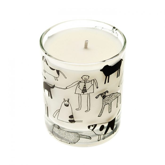 Dogs Scented Organic Candle