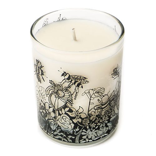 Bee Free Scented Organic Candle (Trade)