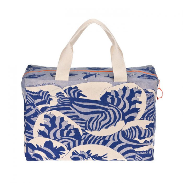 Swim with Whales Forever Luxury Overnight Bag