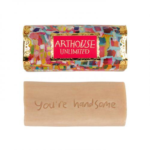 Organic Triple Milled Inscribed Tubular Soap