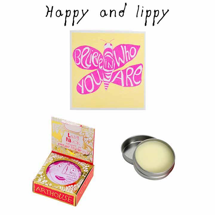 Happy and Lippy image
