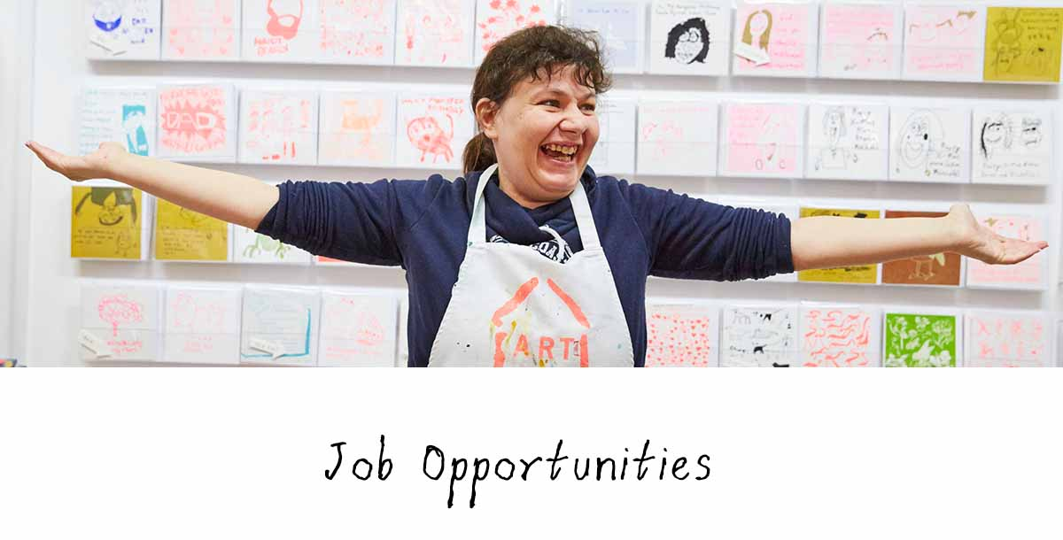 Job opportunities landing page