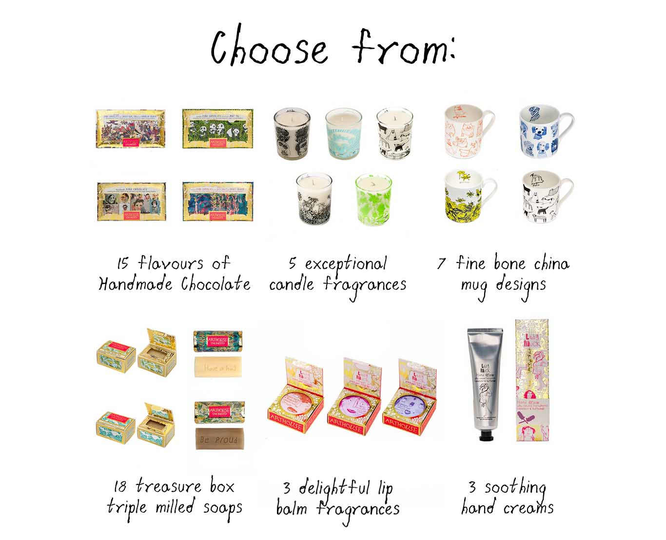 Choose From Company Gifts